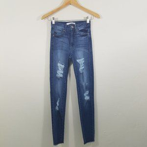 KanCan Distressed Skinny Jeans Size 0